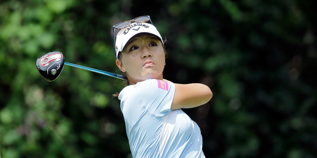 Lydia Ko of New Zealand. Photo / AP.