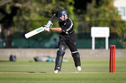 CAPTAIN'S KNOCK: Jacob Smith scored a century as Hawke's Bay opened their Furlong Cup campaign in convincing fashion at the weekend. PHOTO/FILE