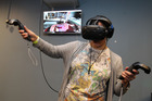 Companies and retailers are pushing to get the immersive technology into people's homes. Photo / Duncan Brown