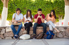 Social media gives a greater illusion of impact to people who spend so much time on it. Photo / Getty Images