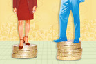 the data shows that in our society men are paid 13 per cent more than women. Photo / Getty Images