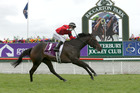 La Diosa romped home in the Group One race at Saturday's gavelhouse.com 1000 Guineas at Riccarton. Photo/Trish Dunell