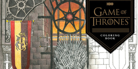 HBOs Game of Thrones Colouring Book