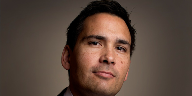 National MP Simon Bridges, in his Beehive office. Photo/file
