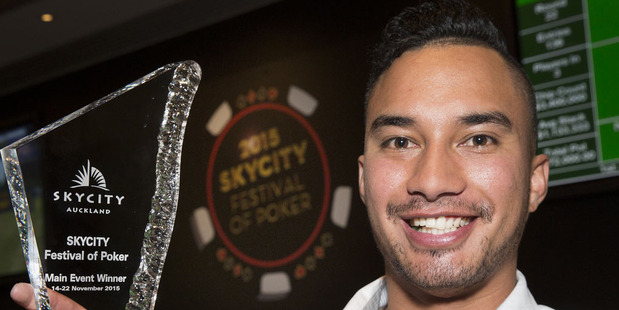 Sky City Festival of Poker 2015 Main Event winner, Te Rangi Matenga, was the fifth Kiwi in seven years to win the Main Event at the festival.