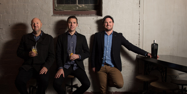Left to right: Rogue Society co-founders Richard Bourke, Daniel McLaughlin and Mark Neal.