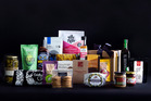 One of Farro Fresh Food's most popular Christmas hampers - the Ultimate Farro Hamper, for $200. Photo / Supplied