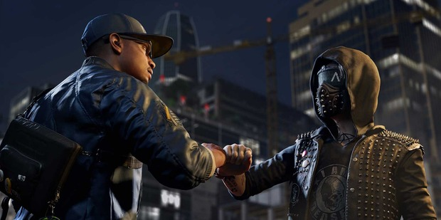 A scene from Watch Dogs 2, a game which lets you hack into major corporations in a high-tech San Francisco setting.