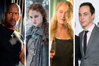 The Rock, Sophie Turner, Meryl Streep and Jim Parsons are among TV's highest-paid actors.