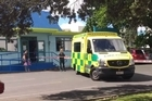 Emergency staff are at the Angels Childcare centre in Takapuna, where a child had died.