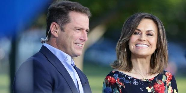 Stefanovic said he 'loves Delta' during an on-air discussion about Voice judges, so obviously they're getting married. Photo / News Corp Australia