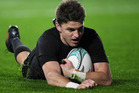 Beauden Barrett has been named player of the year at the World Rugby awards.