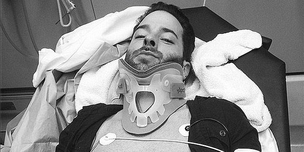Sligh was in the news in 2014 when he was intentionally run over by a car. Photo / Instagram