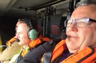 John Key and Gerry Brownlee head down to Kaikoura to inspect damage from Monday's 7.5-magnitude earthquake.