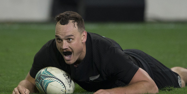 Loading Israel Dagg showed in Rome that there is plenty of running left in his legs. Photo / Brett Phibbs