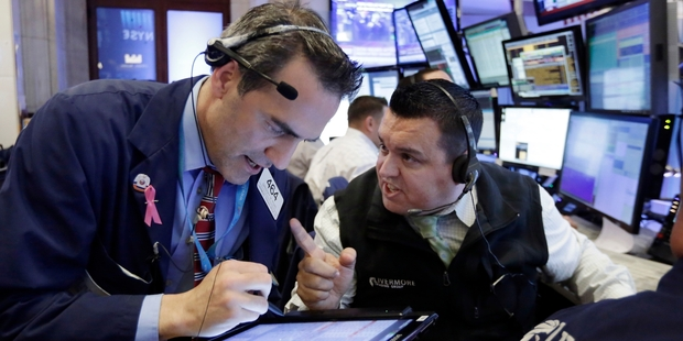 The Dow Jones  rose 0.17pc, while the Nasdaq gained 0.54pc. Photo / AP