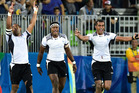 The Fiji sevens team claimed the nation's first ever Olympic gold medal at the Rio Games. Photosport