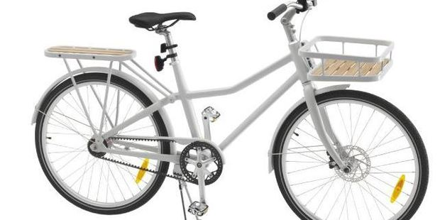Ikea has entered the world of flatpack bicycles, but does it live up to the hype? Photo / Supplied / News.com.au