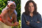 Rachel House plays Moana's Gramma Tala in Disney's upcoming Moana. Photos / supplied, Michael Craig.