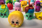 A selection of Shopkins, the hottest toy in toy stores. Photo / Bill O'Leary