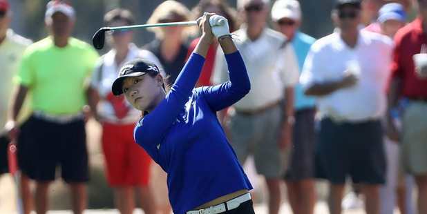 Lydia Ko needs victory to claim the $1m prize. Photo / Getty