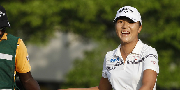 Lydia Ko was the first player to sign up for the New Zealand Open in 2017. Photo / AP