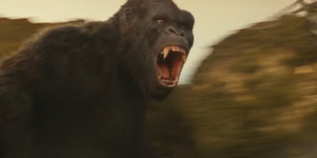King Kong as he appears in his latest cinematic reboot.