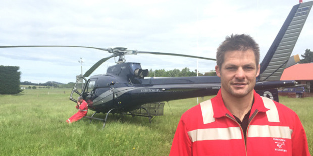 Loading All Blacks great Richie McCaw has joined the deadly earthquake rescue efforts. Photo / Kurt Bayer