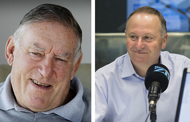 Colin Meads made the top 20 and PM John Key featured on both lists. Photos / NZ Herald