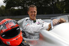 Michael Schumacher in 2011.