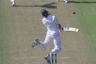Source: SKY Sport. After a long day of Pakistan stoically holding out New Zealand, the Kiwis finally broke through late in the final session on day three of the first test