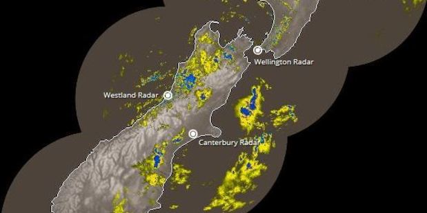 Loading MetService has issued a severe weather watch today that stretches from Buller through to Taupo. Photo of the rain radar / MetService