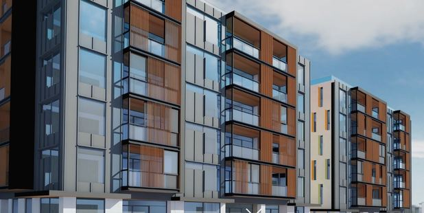 The Sargeson Apartments are planned to be developed in Takapuna.