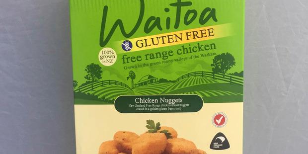 Waitoa Chicken Nuggets Gluten Free. Photo / Supplied