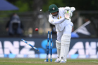 Pakistan's Azhar Ali is bowled during the first test against the Black Caps at Hagley Oval in Christchurch. Photo / Photosport