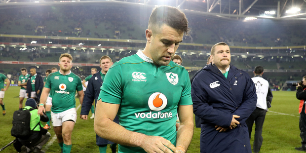 Loading There's an old Irish proverb which rather splendidly applies to some of the bile displayed after the All Blacks won that brutal encounter with Ireland last weekend. Photo / Photosport