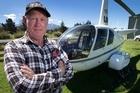 Kaikoura chopper pilot Joe Tripp has flown aid to quake-affected locals paying for the flights through his own generosity