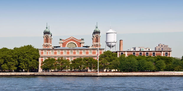 New York City's Ellis Island. Photo / 123RF
