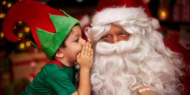 The myth surrounding Santa Claus is doing children more harm than good according to one expert. Photo / 123RF