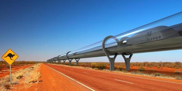 The Hyperloop could be coming to life and reducing travel times between Sydney and Melbourne dramatically.
