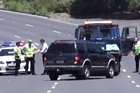 """Source: ITV news. Chase Weir, who was unable to slow down his Ford Explorer below 80km/h, is heard shouting """"Oh my God, Oh my God, I'm gonna die!"""" as he is forced to veer into oncoming traffic."""