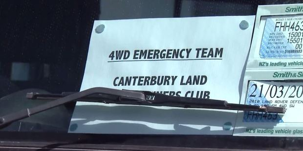 Loading The 4WD Emergency Team is made up of members from the seven 4WD clubs across Christchurch and played a key role in the aftermath of the deadly 2011 earthquake. Photo / NZME