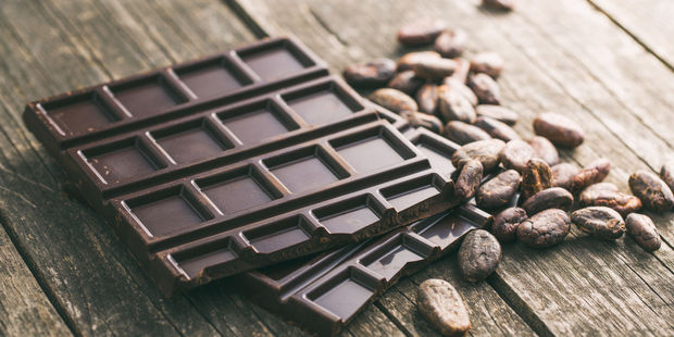 Chocolate can help to keep the brain healthy because it contains cacao - raw cocoa, which is high in magnesium, iron and zinc. Photo / 123RF