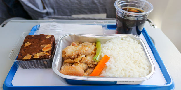 If you can cut it with a fork, it's perfect for the plane. Photo / 123RF