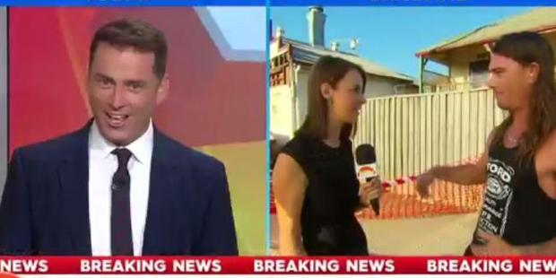Karl Stefanovic was pretty impressed with Daniel McConnell's actions. Photo / Channel 9