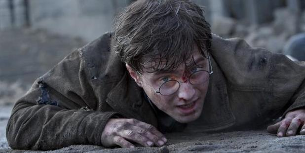 Daniel Radcliffe performed plenty of his death-defying stunts but Holmes did the most dangerous of all. Photo / AP