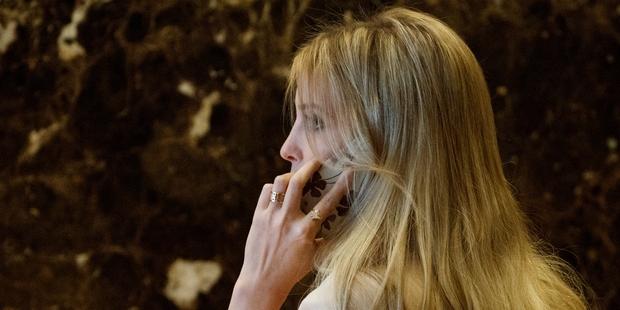 Ivanka Trump was born into a real estate empire. Photo / AP