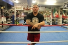 Andy Ruiz is training at altitude.