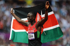A vice-president of the Kenyan Olympic committee has been dragged out from under his bed by police as he hid in an apartment filled with athletes gear. Photo / Photosport