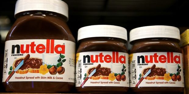 The ring was connected to cargo theft, including the entire truckload of Nutella. Photo / AFP